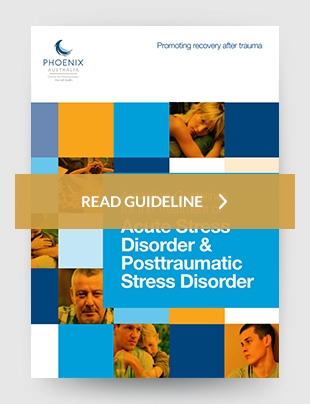 Guidelines for the treatment of acute stress disorder