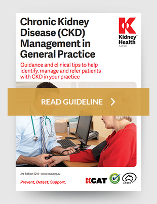 Chronic kidney disease management