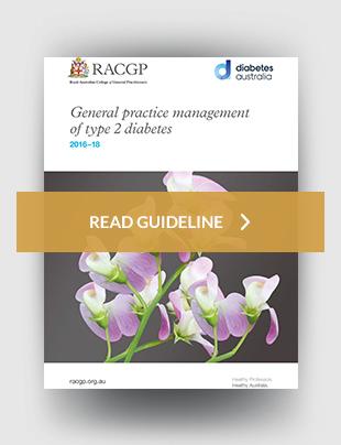 RACGP - General practice management of type 2 diabetes