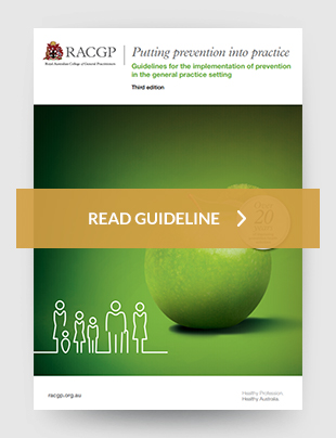 Guidelines for the implementation of prevention in the general practice setting