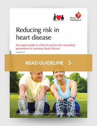 Reducing risk in heart disease