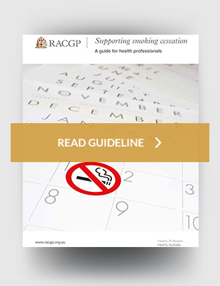 RACGP - Supporting smoking cessation: a guide for health ...