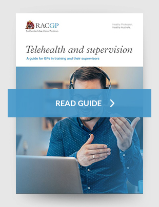 Telehealth and supervision