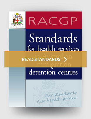 Standards for health services in Australian immigration detention centres