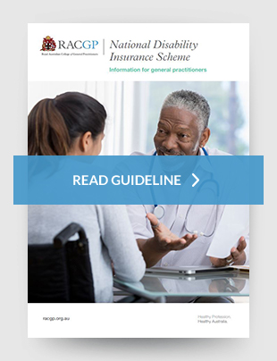 Racgp National Disability Insurance Scheme Information For General Practitioners