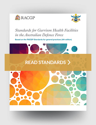 Standards for garrison health facilities in the Australian Defence Force
