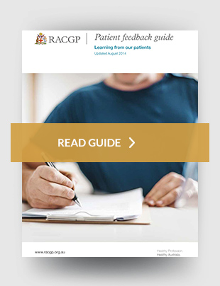 Standards for general practice 4th edition feedback guide