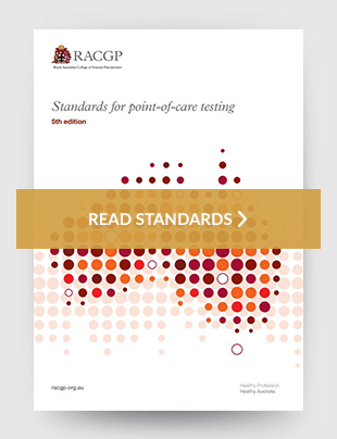 Standards for point-of-care testing