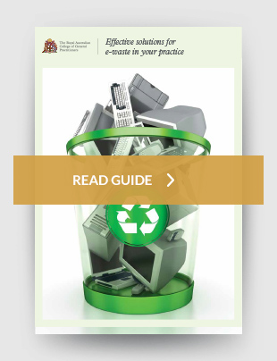 Effective solutions for e-waste in your practice