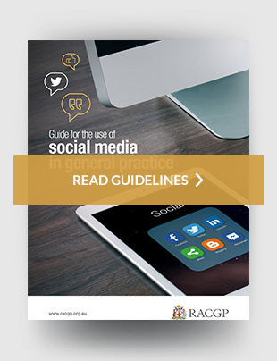 Guide for the use of social media in general practice