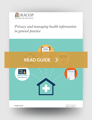 RACGP - Privacy of health information