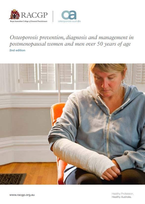 Osteoporosis prevention, diagnosis and management in postmenopausal women and men over 50 years of a