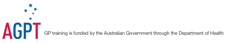 AGPT - GP training is funded by the Australian Government