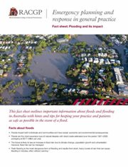 Flooding factsheet