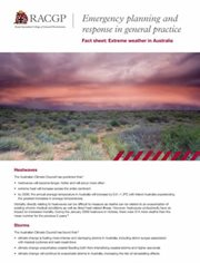 Extreme weather factsheet