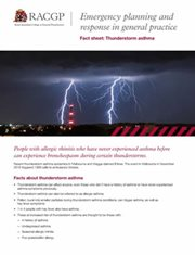 Thunderstorms Factsheet